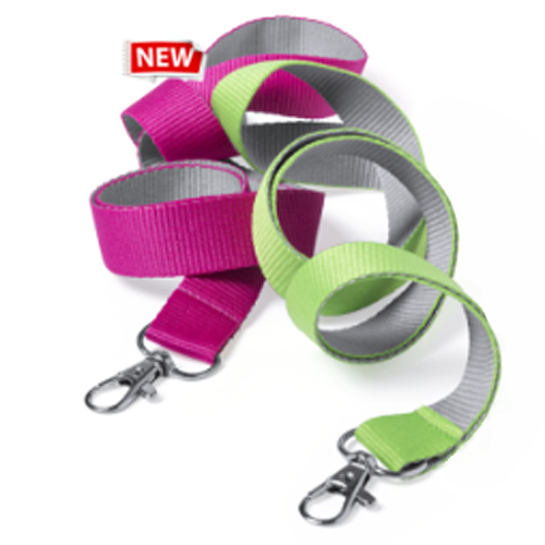 Lanyard poliéster, 8 colores