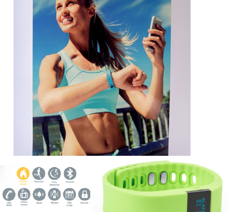 Smartwatch Bluetooth Monitor de Actividad APP Para iOS y Android Recargable USB