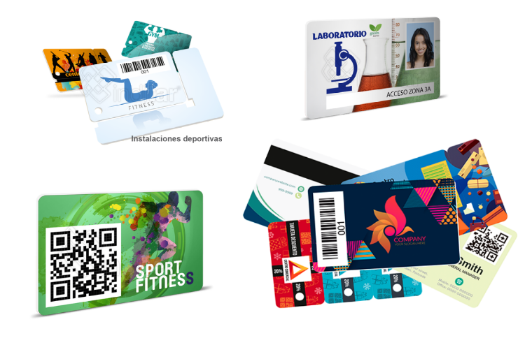 Tarjetas de PVC con Dato Variable