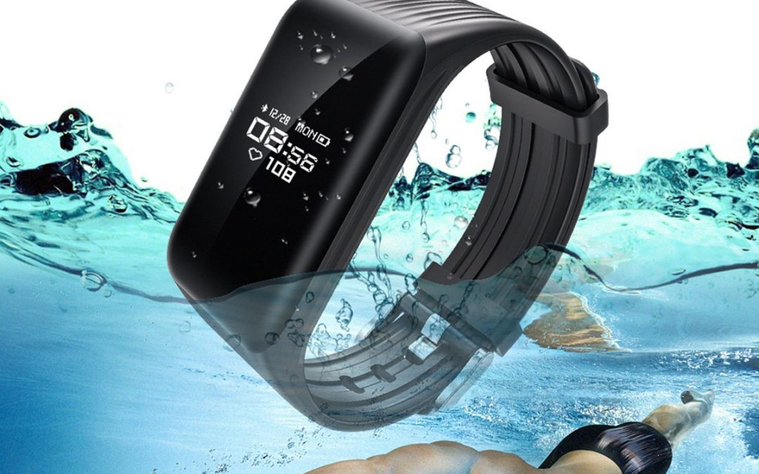 K1 Heart Rate Fitness Tracker Smart Bracelet Wristband Watch Monitor IP68