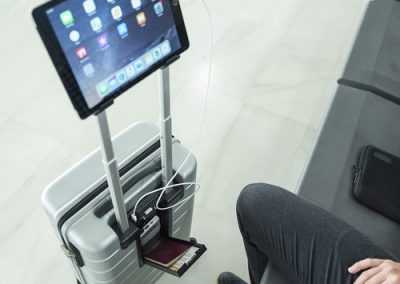 trolley soporte tablet