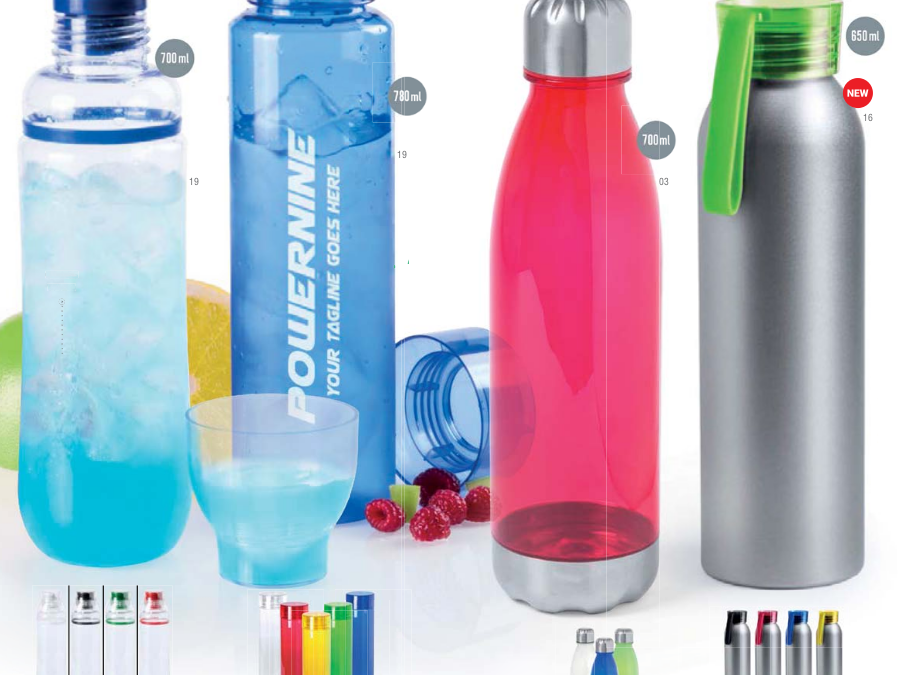 Botellas de deporte con Certificados Food Safety y BPA Free
